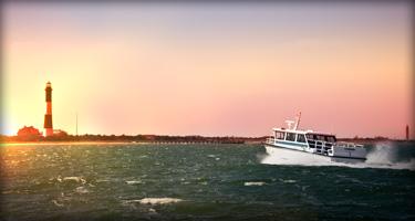 Fire Island Fishing Water Taxi